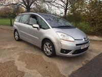 CITROEN C4 GRAND PICASSO 2007 AUTOMATIC. 7 SEATER. YEARS MOT FULL HISTORY DRIVES SUPERB
