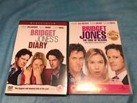 Bridget Jones 1&2 dvds