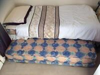 Single Divan and Trundle bed