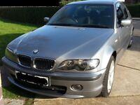 BMW 318I AUTOMATIC TRIPTRONIC 54 (2004) REG 5 DOOR SALOON SILVER GREY