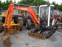 Kubota KX61-3 Mini Digger