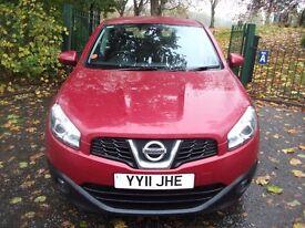Nissan Qashqai 1.5 dCi Acenta 2WD 5dr£6,449 1 OWNER + SAT NAVIGATION EDITN 2011 (11 reg), Hatchback
