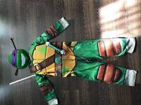Ninja turtle costume 7-8 year