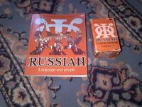 Russian Language and People book and Audio cassettes for sale