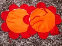 Kids Seat pads for chairs. With tie on straps. Washable. �1.50. Torquay.
