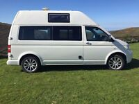 VW T5 CAMPERVAN 2.5 TDi 6 Speed AUTO TIPTRONIC Billabong HIGH TOP 2007 Camper