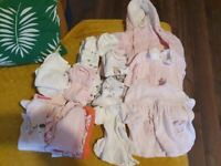 Newborn/tiny baby girl clothes