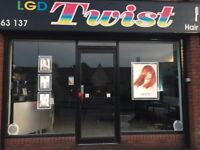 Qualified hairdresser min 5yrs experience part time hours start ASAP in a local friendly salon