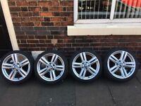 """Bmw alloys Wheels 18"""" m sport"""