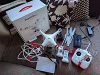 DJI Phantom 3 Standard Drone with Extras