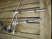 2 Yamaha mini boom arms