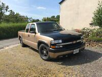 Chevy Silverado Pick up truck 2000, 5300 (cc)