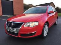 2009 VOLKSWAGEN PASSAT HIGHLINE 2.0 TDI 6 SPEED FULL SERVICE HISTORY TWO OWNERS LONG MOT