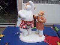 Highland Fling Snowman Figure