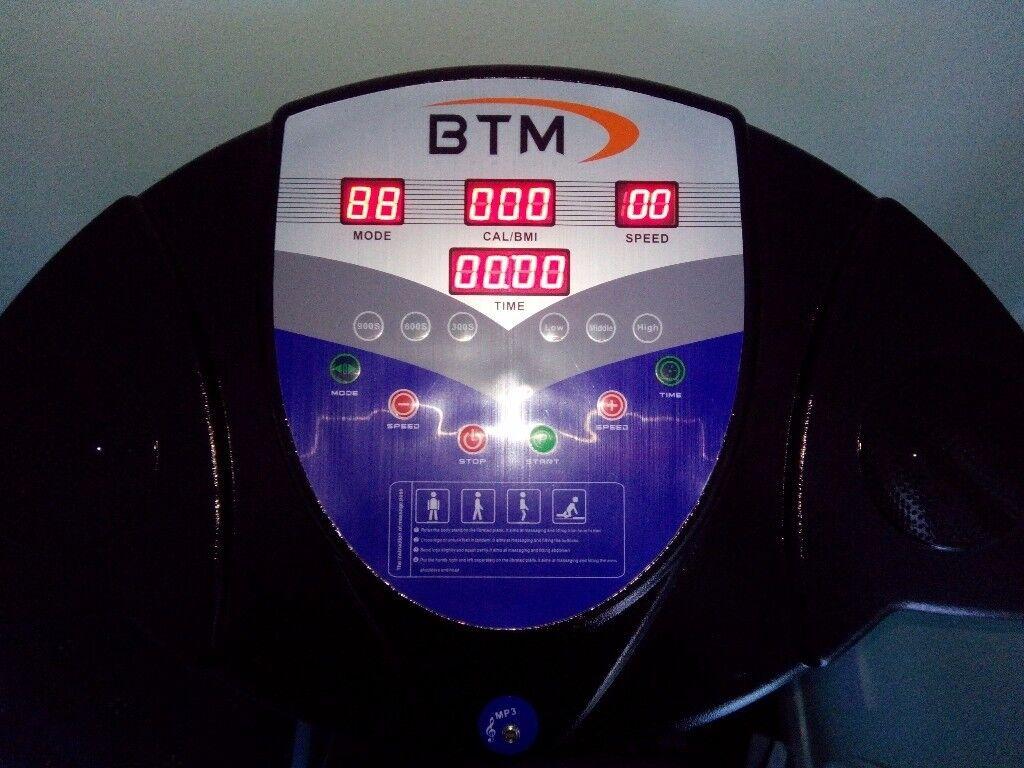 BTM Vibration Plate fitness machine