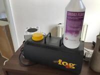Fog f/x smoke machine
