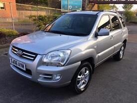 Stunning 2006 06 Kia Sportage XS 2.0Crdi 4WD **Only 98000+History+Full Leather+Great Mpg**