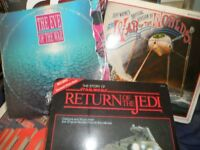 war of the worlds vinyl and star wars..........HELSBY