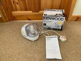 Kenwood Mini Chopper.