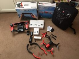 Parrot Bebop Drone with Sky controller and extras (as new)