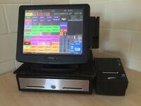 ★ Epos Pos Touchscreen Till Bar / Pub Restaurant Takeaway Cafe Bakery, Coffee Deli's ICR TouchPoint