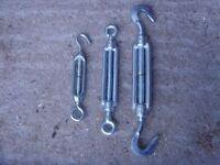 TURNBUCKLE M6 M8 M10 Wire Chain Tensioner - NEW