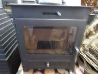 HILLENDALE 7 KW DEFRA APPROVED WOOD BURNING STOVE REDUCED TO CLEAR £475
