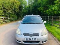 TOYOTA YARIS 2004 50K MILES 12 MONTH MOT IDEAL FIRST CAR CHEAP TO INSURE