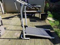 Almost brand new powerless treadmill