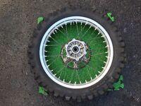 Suzuki DRZ400 DRZ S SM E dirt offroad enduro wheels