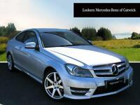 Mercedes-Benz C Class C180 BLUEEFFICIENCY AMG SPORT (silver) 2012-09-21