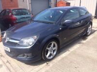 "08 Vauxhall Astra 1.8 SRi X-Pack Plus 3dr - MOT OCT 14th - 18"" Alloys - Leather - SPARES OR REPAIRS"