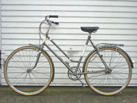 Beautiful Ladies Lightweight Dutch Style 3 speed bike, Serviced