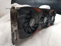 Gigabyte GeForce GTX1070 G1 Gaming 8GB VR Ready WINDFORCE 3X Cool 1 Month Old
