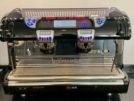 Top of the range La Spazialle S40 commercial 2 group head eapresso machine