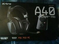 Astro a40 tr and mix amp pro headset 7.1