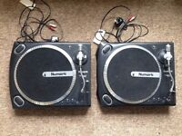 2 x Numark TT1625 Turntables / Record Players