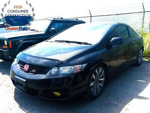 2010 Honda Civic SI**6 SPEED**SUNROOF**ALLOY WHEELS**