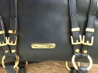 Genuine Michael kors navy leather bag -£130