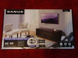 "SANUS VLC1 Curved TV Swivel Mount for 40""-88"" Vesa 400 x 400 & 400 x 600"