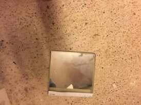 2 lovely mirrors with self adhesive on back