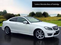 Mercedes-Benz C Class C220 CDI AMG SPORT EDITION PREMIUM PLUS (white) 2014-09-26