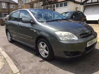 2005 TOYOTA COROLLA VVTI T3 1.4 Grey 60000 Low Millage Excellent Condition FSH