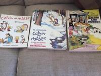 Calvin and Hobbes books x3