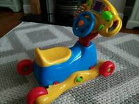 Baby/toddler bike toy vtech - Grow and go ride on