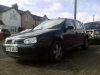 Volkswagen Golf 1.6 automatic black four door very good runner 4 month MOT