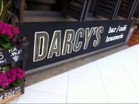 Festive Bar and Floor Staff - Darcy's