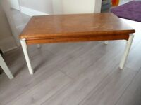 SOLID OAK coffee table, ideal upcycle project, quality piece of furniture, £20