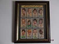Framed picture of some Leeds United players