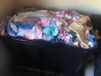 HUGE bundle of girls clothes
